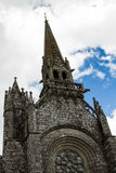 La iglesia de nuestra señora Kernascleden, Bretaña, Francia Fotografía de archivo