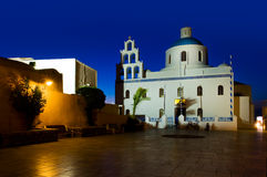 La iglesia de Panagia de Platsani Imágenes de archivo libres de regalías
