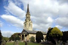 La iglesia de parroquia de St Lawrence fotografía de archivo libre de regalías