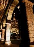 La iglesia de Parroquia, San Miguel de Allende, Guanajuato, México Foto de archivo libre de regalías