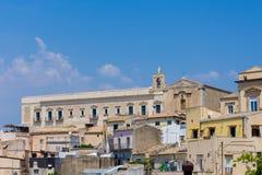 La iglesia de S El ¹ de Maria di Gesà está adyacente al anterior conven Fotografía de archivo libre de regalías