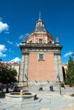 La iglesia de San Andres fotografía de archivo