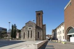 La iglesia de San Francisco en Udine fotos de archivo