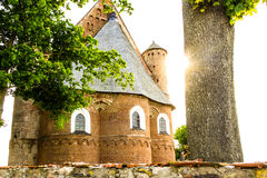 La iglesia de San Miguel Imagenes de archivo