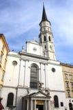 La iglesia de San Miguel, Viena, Austria Fotos de archivo libres de regalías