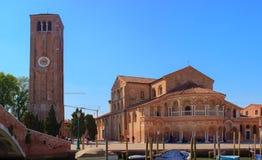 La iglesia de Santa Maria e San Donato Imagen de archivo