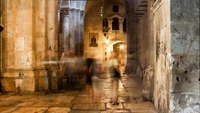 La iglesia de Santo Sepulcro en Jerusalén Fotos de archivo