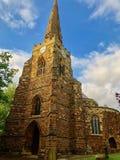 La iglesia de Santo Sepulcro en Northampton fotos de archivo