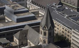 La iglesia de St Andrew en Colonia imagen de archivo