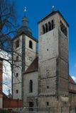 La iglesia de St Augustine regulado, Erfurt, Alemania fotografía de archivo libre de regalías