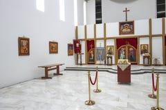 La iglesia de St Cyril y Methodius, Jajinci imagen de archivo libre de regalías