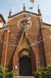 La iglesia de St Dominic, Turín Foto de archivo libre de regalías
