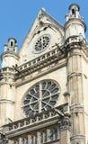 La iglesia de St Eustace, París Fotos de archivo