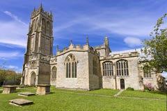 La iglesia de St John en Glastonbury, Somerset, Inglaterra, Reino Unido (Reino Unido) Imagenes de archivo