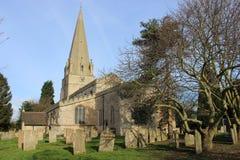 La iglesia de St Mary, Edwinstowe, Nottinghamshire Fotografía de archivo