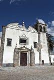La iglesia de St Mary en Serpa, Portugal Imagenes de archivo