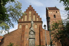 La iglesia de St Mary en Varsovia Polonia fotos de archivo libres de regalías
