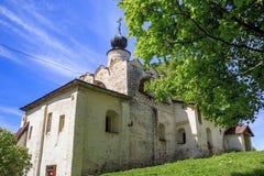 La iglesia de St Sergius de Radonezh en el Kirillol-Belozersky Foto de archivo libre de regalías