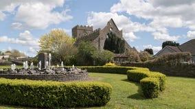 La iglesia de StMary en Gowran Foto de archivo