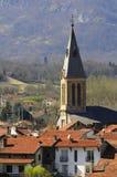 La iglesia de Tarascon Foto de archivo