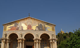 La iglesia de todas las naciones en Jerusalén, Israel imagenes de archivo