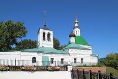 La iglesia de la transfiguración, ciudad de Vladimir, Rusia fotografía de archivo