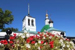 La iglesia de la transfiguración, ciudad de Vladimir, Rusia fotografía de archivo libre de regalías