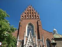 La iglesia de trinidad santa Imágenes de archivo libres de regalías