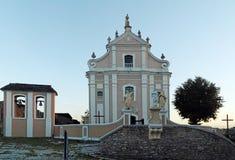 La iglesia de la trinidad santa en Kamyanets-Podilsky, Ucrania fotografía de archivo