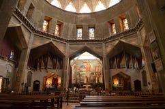La iglesia del complejo del anuncio Imágenes de archivo libres de regalías
