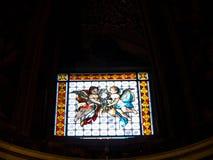 La iglesia del ¹ de Gesà está situada en el ¹ del Gesà de la plaza en Roma Foto de archivo libre de regalías