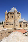 La iglesia del Dormition, Jerusalén Foto de archivo libre de regalías