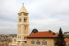 La iglesia del redentor, Jerusalén Imagen de archivo libre de regalías