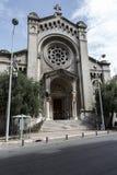 La iglesia del Saint Pierre d Arene de Nice Foto de archivo