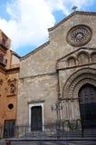 La iglesia del santo Francisco en Palermo, Sicilia Fotografía de archivo