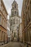 La iglesia del santo Gommaire en Lier, Bélgica Imagenes de archivo