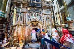 La iglesia del sepulcro santo Imágenes de archivo libres de regalías