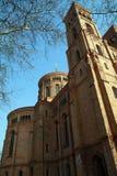 La iglesia del St. Thomas en Berlín. Imagenes de archivo
