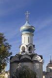 La iglesia en la abadía del sergei de Sam, Federación Rusa Foto de archivo libre de regalías