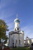 La iglesia en la abadía del sergei de Sam, Federación Rusa Fotos de archivo