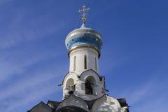 La iglesia en la abadía del sergei de Sam, Federación Rusa Imagen de archivo libre de regalías