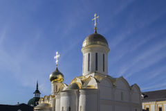 La iglesia en la abadía del sergei de Sam, Federación Rusa Fotos de archivo libres de regalías