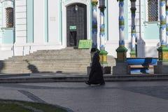 La iglesia en la abadía del sergei de Sam, Federación Rusa Fotografía de archivo