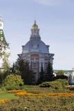 La iglesia en la abadía del sergei de Sam, Federación Rusa Imagen de archivo