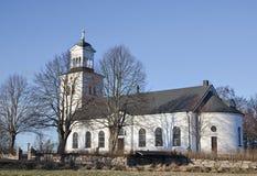 La iglesia en Rök, Suecia Imagen de archivo