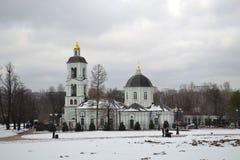 La iglesia en Tsaritsyno Imagen de archivo libre de regalías
