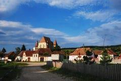 Chuch fortificado en Biertan, Transilvania, Rumania fotografía de archivo libre de regalías