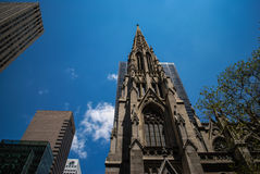 La iglesia hermosa Fotografía de archivo libre de regalías