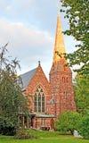 La iglesia inglesa Fotografía de archivo libre de regalías