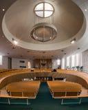 La iglesia luterana de San Pedro Imagen de archivo libre de regalías